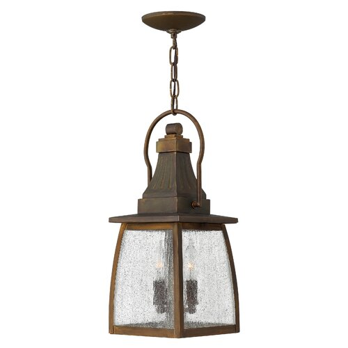 Hinkley Lighting Montauk 2 Light Outdoor Hanging Lantern