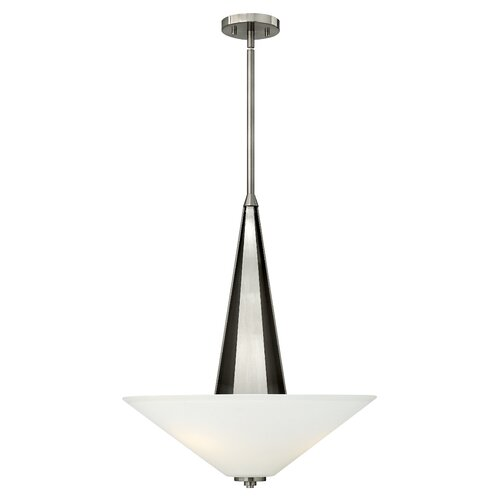 Victory 3 Light Invert Foyer Inverted Pendant