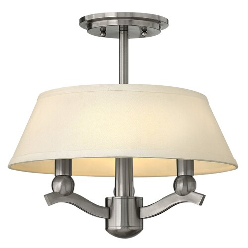 Whitney 3 Light Invert Foyer Pendant