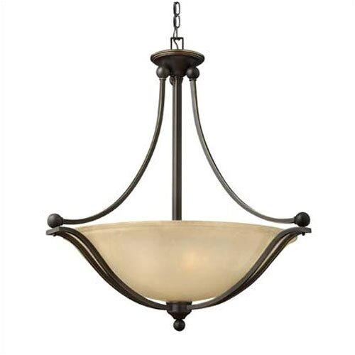 Bolla 4 Light Inverted Pendant