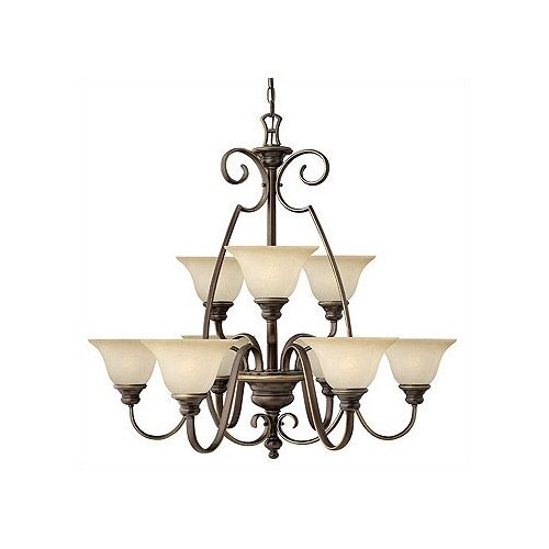 Hinkley Lighting Cello 9 Light Chandelier