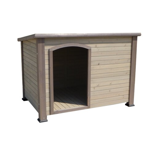 Precision pet outback dog house insulation kit reviews for Outback log cabin dog house