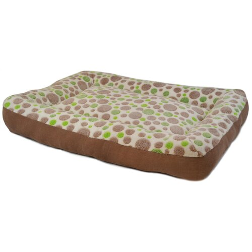 Cute as a Button Low Bumper Bolster Dog Bed