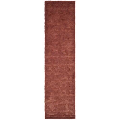Safavieh Tibetan Greek Key Rust Rug