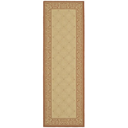 Safavieh Courtyard Vine Border Outdoor Rug