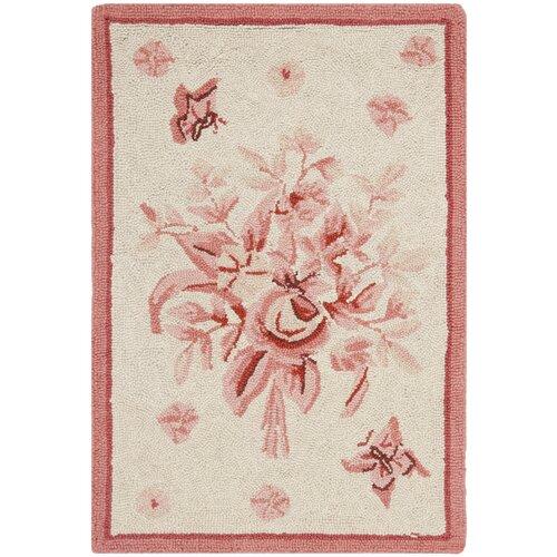 Safavieh Chelsea Ivory / Pink Rose Garden Area Rug