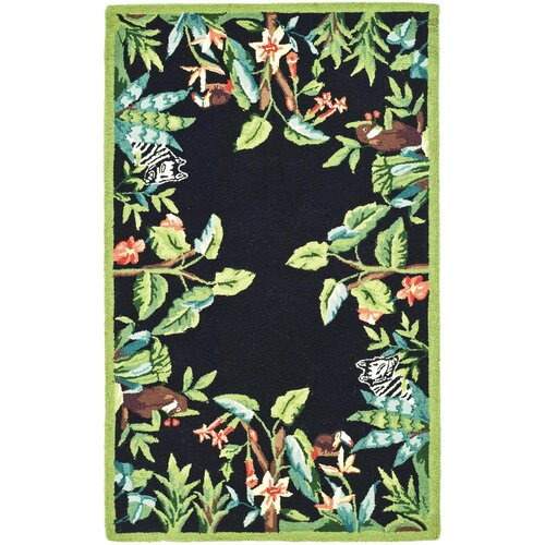 Safavieh Chelsea Black / Green Novelty Area Rug