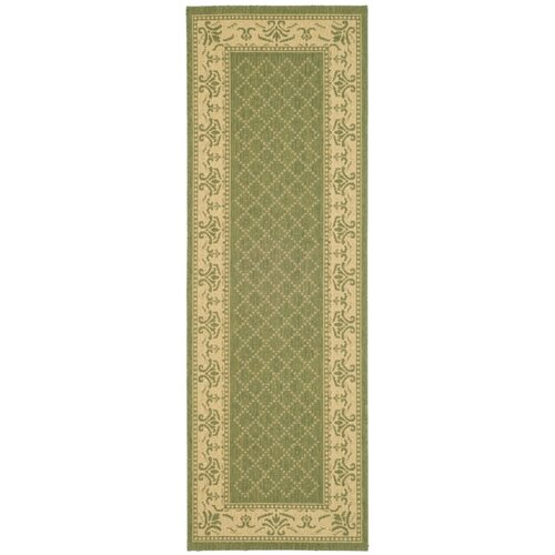 Safavieh Courtyard Classic Border Outdoor Rug