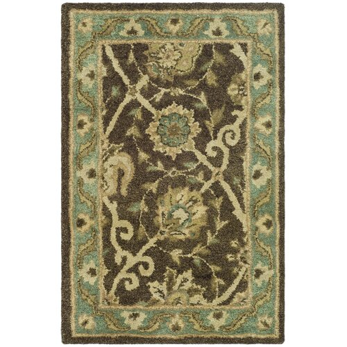 Safavieh Antiquities Brown/Green Rug