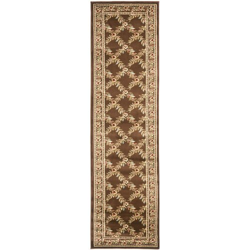 Safavieh Lyndhurst Brown/Brown Checked Rug