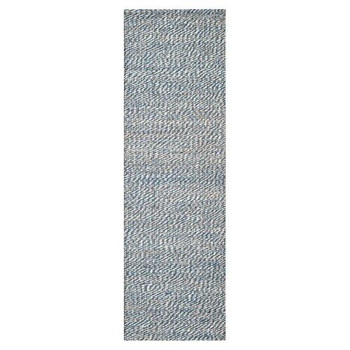 Natural Fiber Blue / Ivory Rug