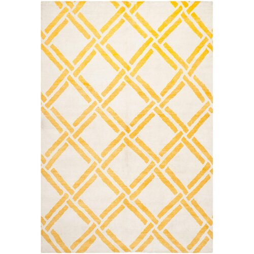 Moroccan Ivory/Gold Rug