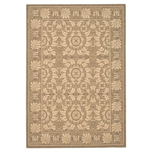 Safavieh Courtyard Coffee/Mais Outdoor Rug