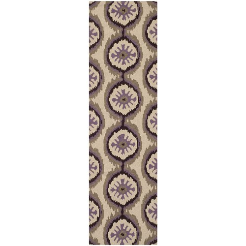 Four Seasons Beige/Purple Outdoor Rug