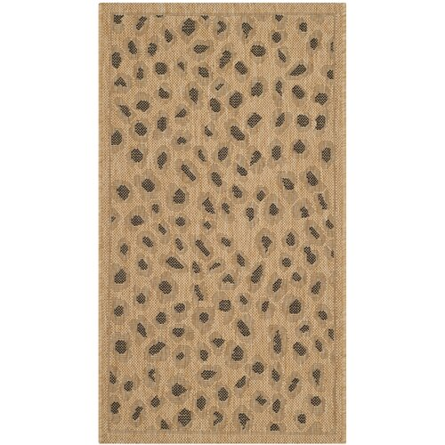 Safavieh Courtyard Gold Outdoor Rug