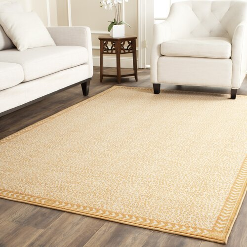 Safavieh Metropolis Ivory/Gold Indoor/Outdoor Rug