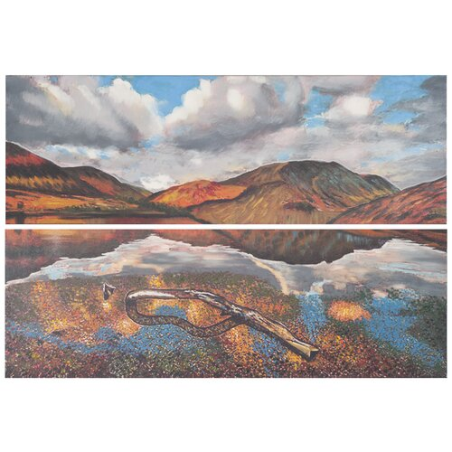 Painted Desert 2 Piece Painting Print on Canvas Set (Set of 16)