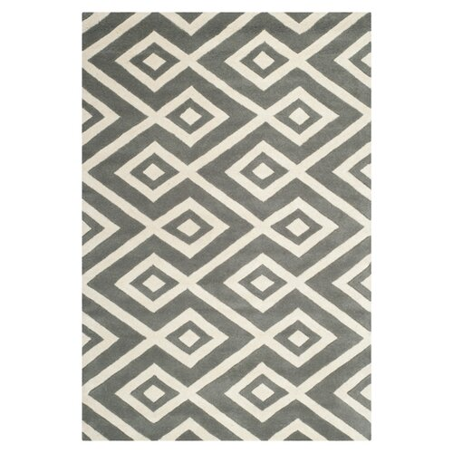 Safavieh Chatham Dark Grey / Ivory Rug