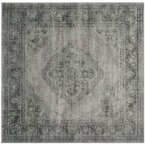 Vintage Light Blue Outdoor Rug