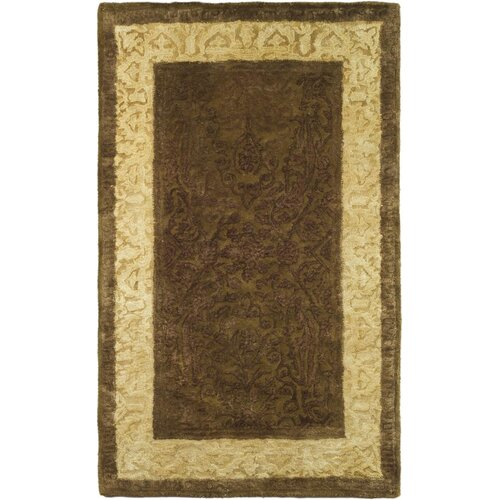 Safavieh Silk Road Chocolate/Light Gold Rug