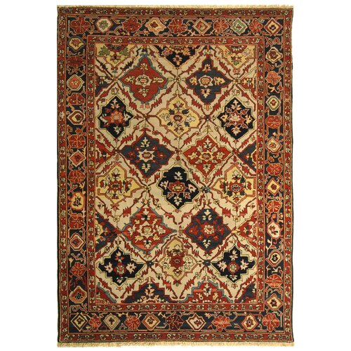 Turkistan Ivory/Navy Rug