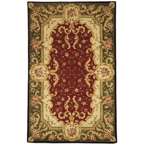 Safavieh Naples Red/Green Rug