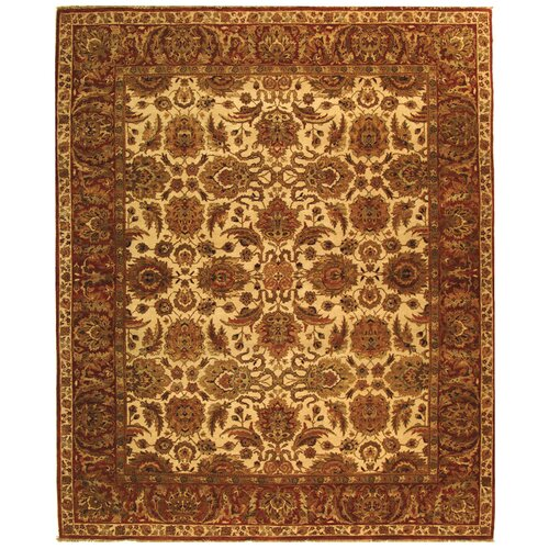 Safavieh Old World Ivory/Rust Agra Rug