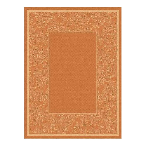 Safavieh Courtyard Terracotta/Natural Outdoor Rug
