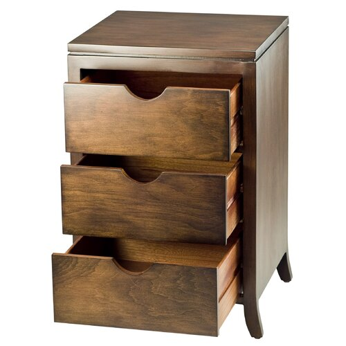 Safavieh Bailey 3 Drawer Chest