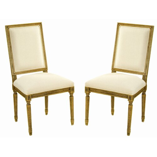 Safavieh Antiqued Fairfax Side Chair (Set of 2)
