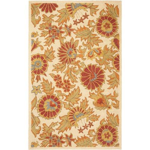 Safavieh Blossom Ivory/Red Rug