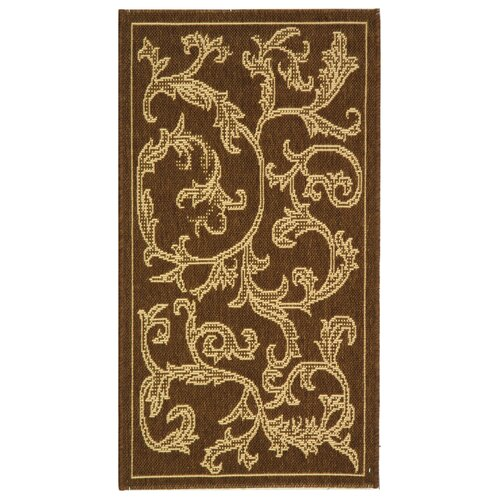 Safavieh Courtyard Brown/Natural Outdoor Rug