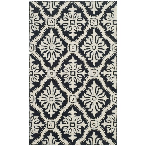 Safavieh DuraRug Black/White Rug