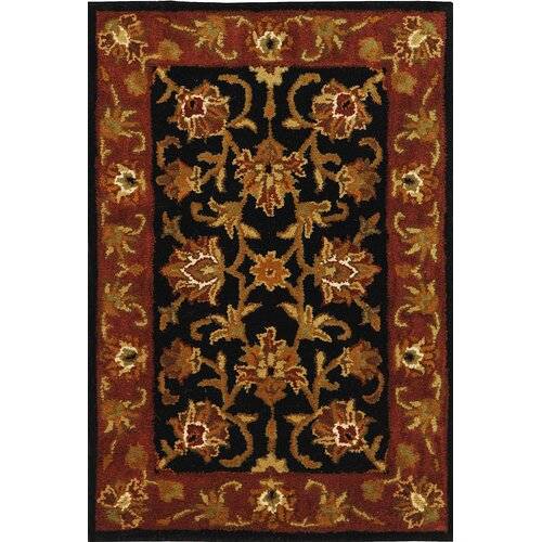 Safavieh Heritage Black/Red Rug