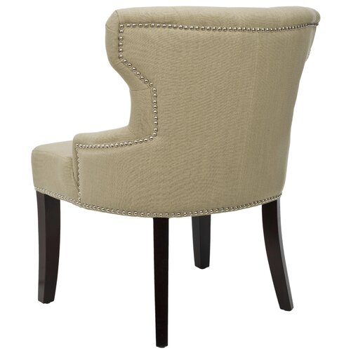 Safavieh Jack Tufted Fabric Slipper Chair
