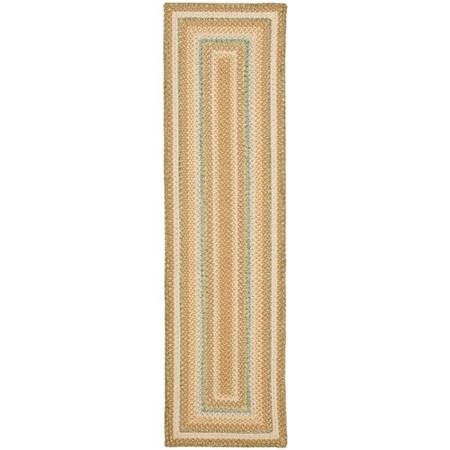 Braided Tan/Multi Rug