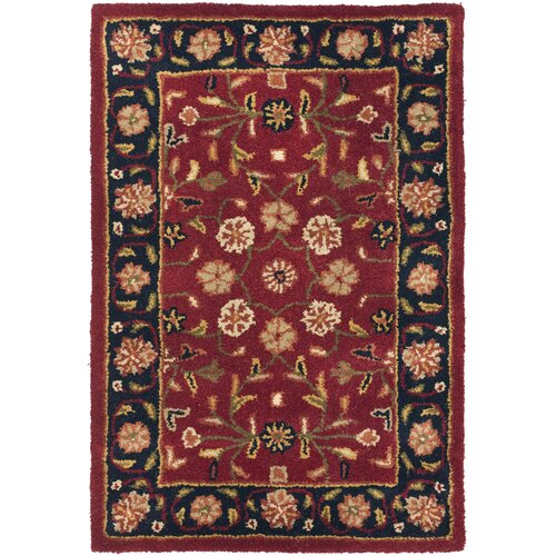 Heritage Red/Navy Rug