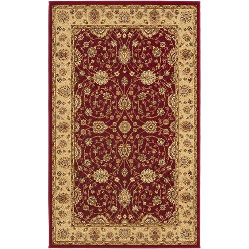 Safavieh Majesty Red/Camel Rug