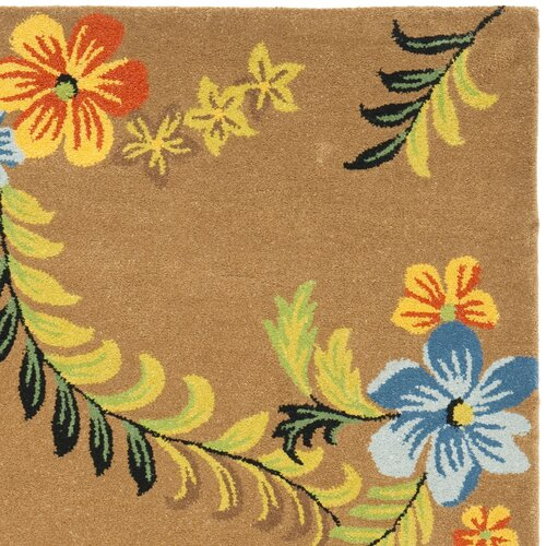 Safavieh Soho Brown/Multi Floral Rug