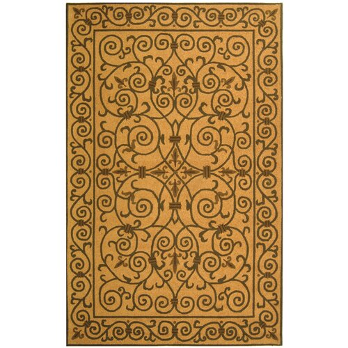 Safavieh Chelsea Yellow Iron Gate Rug