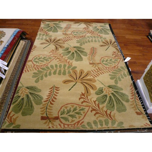 Safavieh Jardin Beige/Multi Leaves Rug