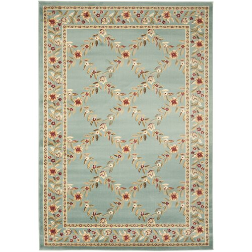 Safavieh Lyndhurst Blue/Blue Checked Rug
