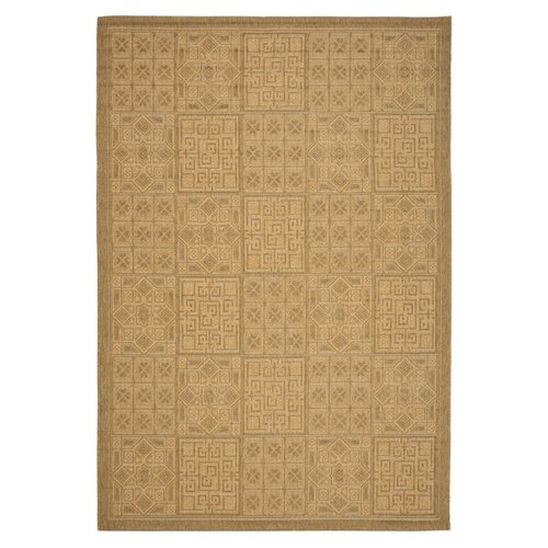 Courtyard Gold / Natural Outdoor Rug