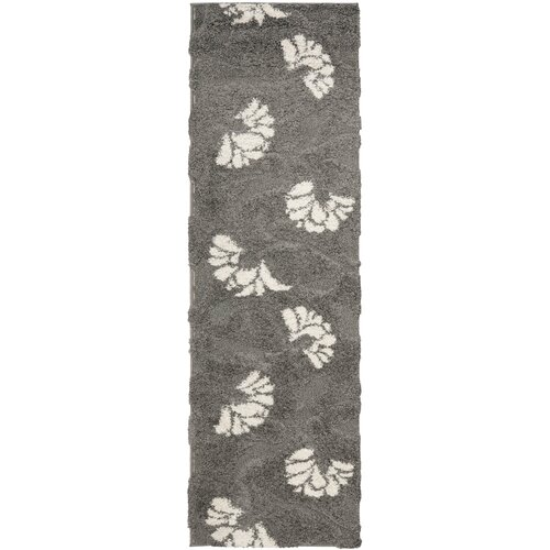 Florida Shag Light Gray Rug