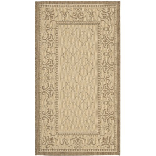 Courtyard Vine Border Outdoor Rug