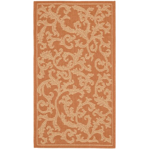 Safavieh Courtyard All Over Ivy Outdoor Rug