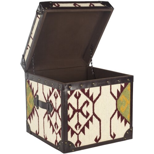 Safavieh Jackpot Square Trunk