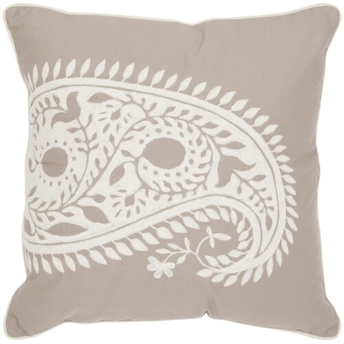 Safavieh Paisley Cotton Decorative Pillow