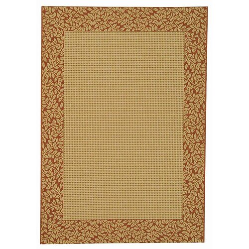 Safavieh Courtyard Natural/Terra Outdoor Rug