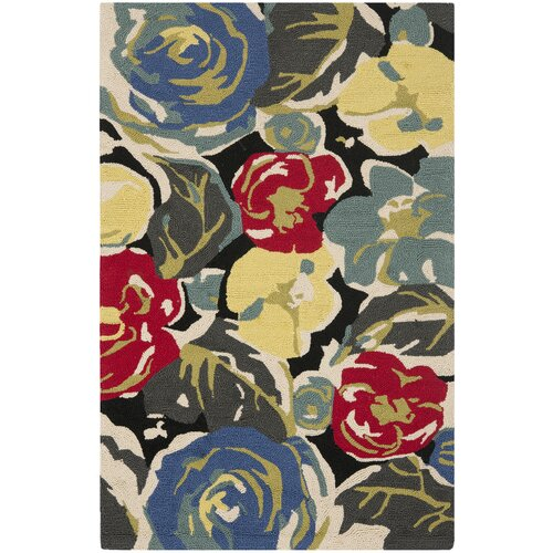 Four Seasons Black / Multi Outdoor Rug